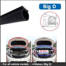 4M Big D gumowa uszczelka do drzwi ogólne silniki EPDM wodoodporna gumowa uszczelka drzwi materiał dźwiękoszczelny uszczelka drzwi samochodowych uszczelka do drzwi taśmy akcesoria