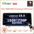 Snapdrago 625 1920*720p 2DIN Android 10 Автомобильная магнитола для BMW F20 F21 F30 F31 F34 F32 F33 F36 автомобильный стерео автомагнитолы экран навигации