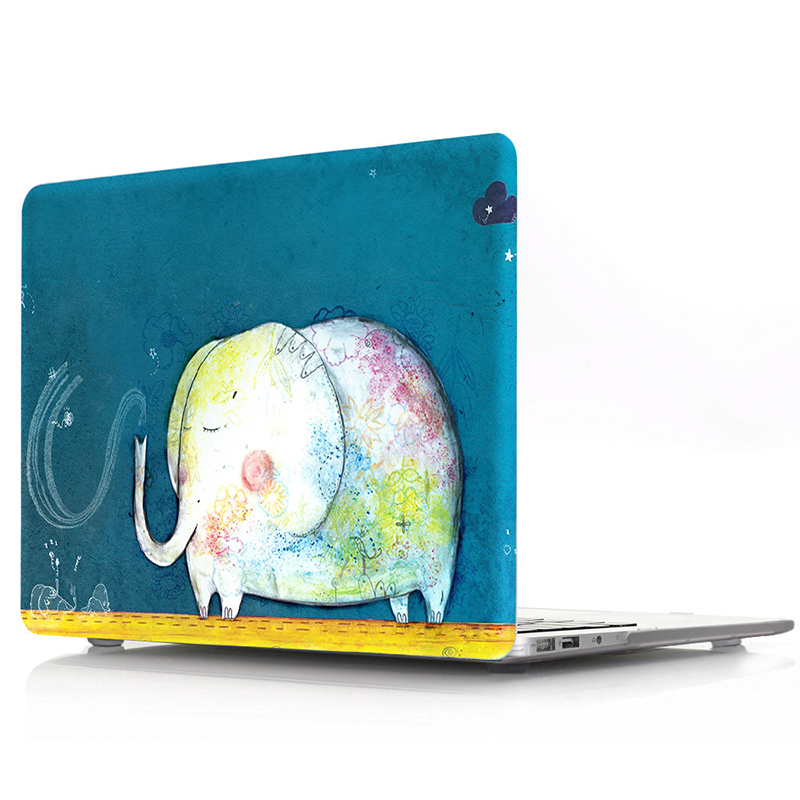 Raffiti Animal Pattern Case for MacBook 39