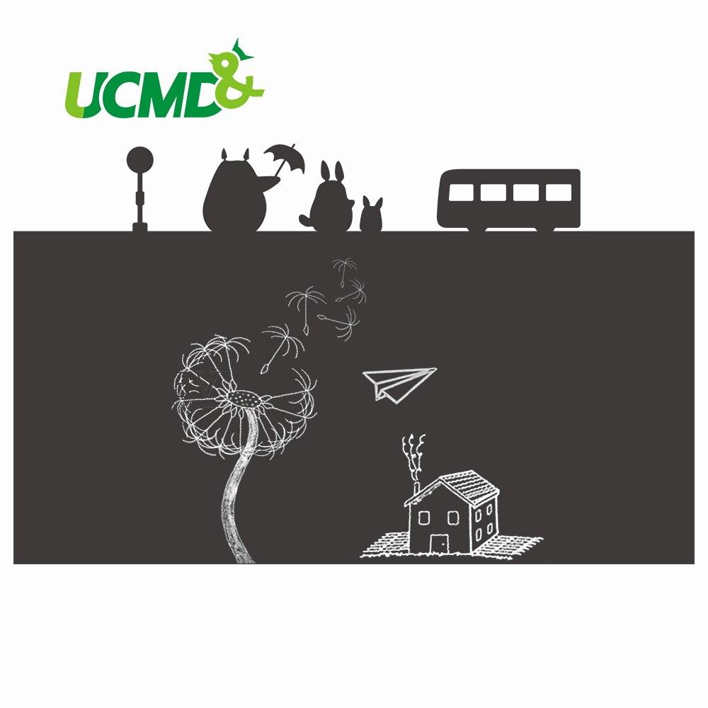Tableau blanc souple tableau noir amovible vinyle papier peint dessin écriture Graffiti tableau noir autocollants enfants éducatifs jouets d'apprentissage
