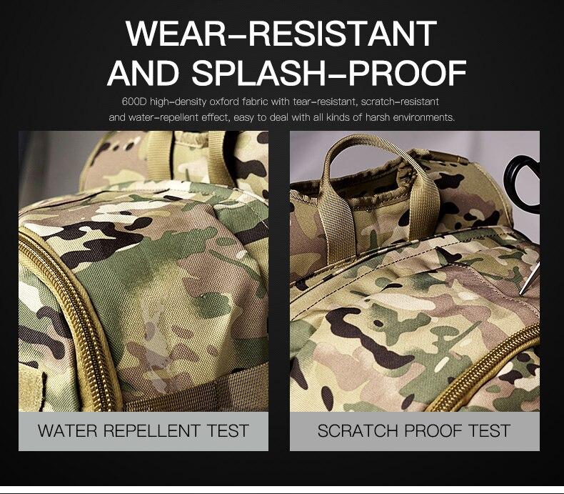 sac à dos tactique Camouflage