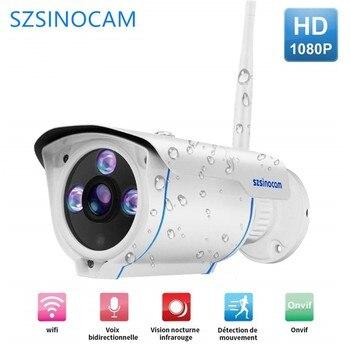 webcam IP Camera Outdoor Waterproof CCTV 1080P 20fps Email Alert ONVIF P2P Motion Detection RTSP 12V POE Video Surveillance