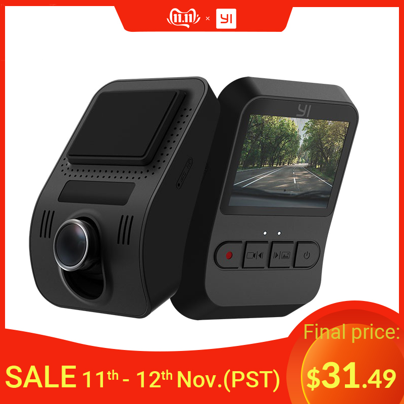 YI Mini Dash Cam 1080p FHD Dashboard Video Recorder Wi Fi Car Camera with 140 Degree Wide angle Lens Night Vision G Sensor-in DVR/Dash Camera from Automobiles & Motorcycles