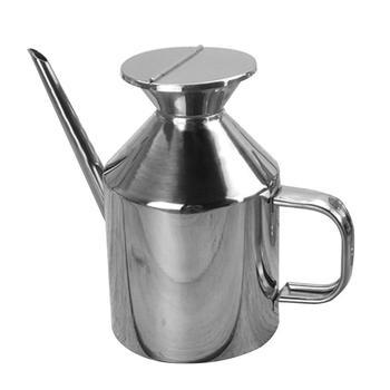 ¡Oferta! Recipiente de cocina para salsa de aceite de acero inoxidable de 375/625ml, bote dispensador de botellas