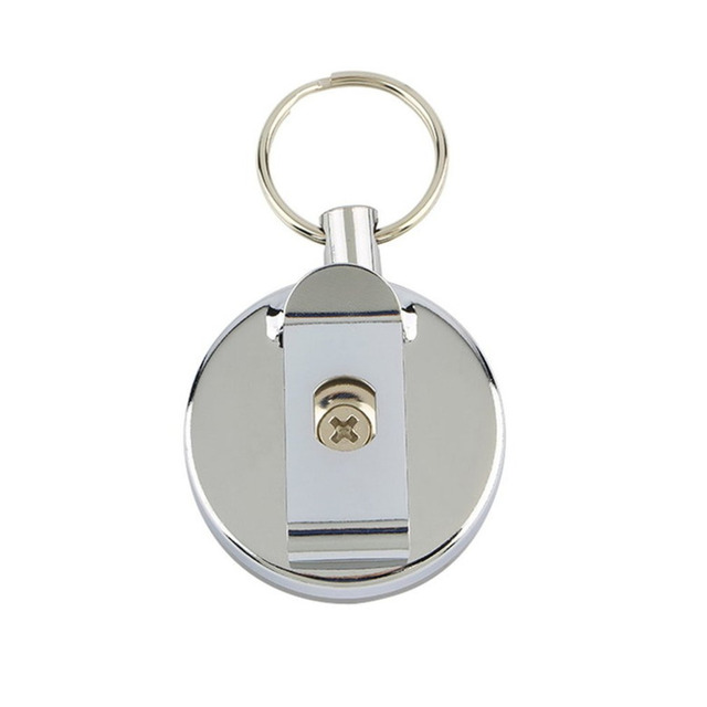 OUTAD Stainless Retractable Key Ring