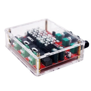Image 5 - AMPLIFICADOR DE POTENCIA de Audio Digital estéreo HiFi TPA3116D2 4,2, con Bluetooth 2,1, tipo Subwoofer, 50W x 2 + 100W, Radio FM, USB, Mp3 play