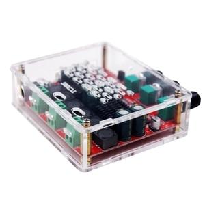 Image 5 - HiFi TPA3116D2 4.2 Bluetooth 2.1 ערוץ סטריאו דיגיטלי אודיו כוח סאב מגברי לוח 50W * 2 + 100W FM רדיו USB Mp3 לשחק