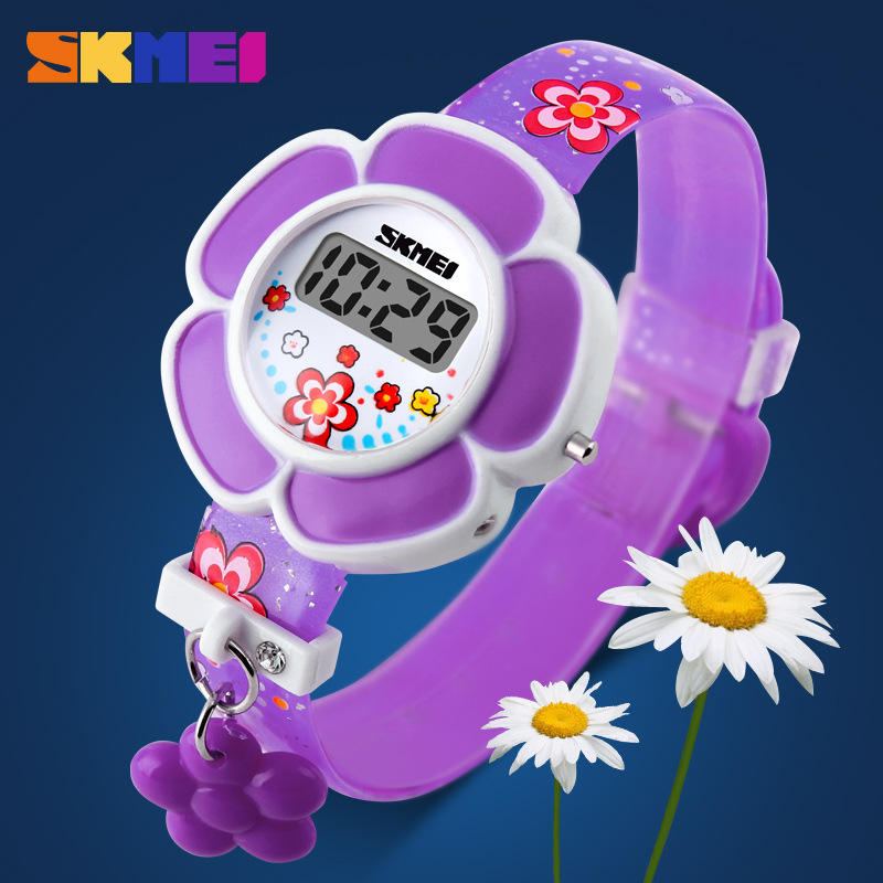 SKMEI Fashion Boys Girls Watches Children Girl Digital Sport LED Electronic Wrist Watch Kid Casual Design Dial Clock Gifts