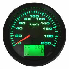 Gauges Speedometers Auto-Boat 85mm GPS Waterproof Lcd Trip for 1pc Cog New-Style 0-200km/H
