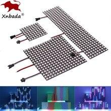 Panneau lumineux numérique Flexible, adressable individuellement, DC5V WS2812B LED WS2812, 8x8, 16x16, 8x32, écran matriciel