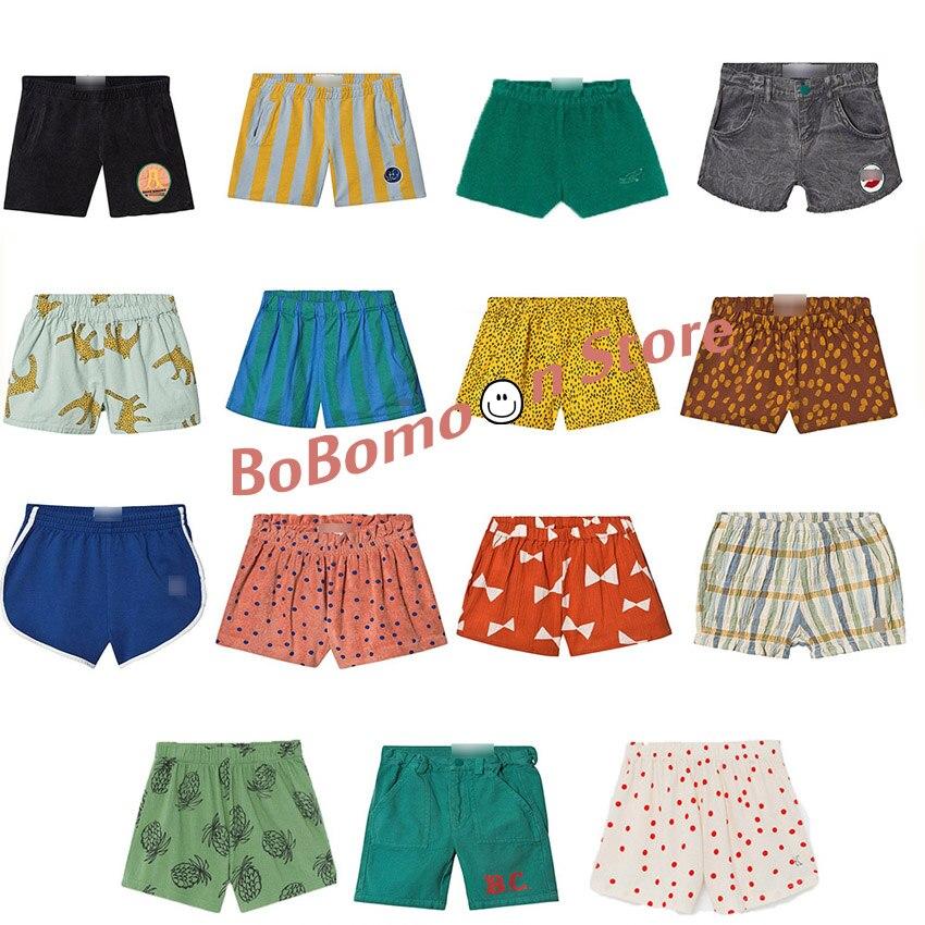 Pre-sale BOBOmoon-Bobo Ch* 2020 New Summer Baby Boys Shorts Fashion Beach Christmas Kid Shorts For Girls Thanksgiving Boy Shorts
