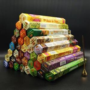 Aromatherapy-Sticks Fragrances Incense-Stick Lavender 20-Sticks-Per-Box Meditation India