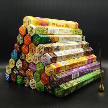 T 36 Fragrances India Incense Stick Handmade Aromatherapy Sticks 20 Sticks Per Box Sandalwood Lavender Meditation Incenses 1