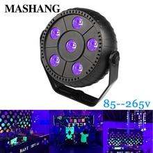 LED Stage Spotlight UV Violet Black Lights Disco Laser Light Dj Ultraviolet Effect Lamp Professional