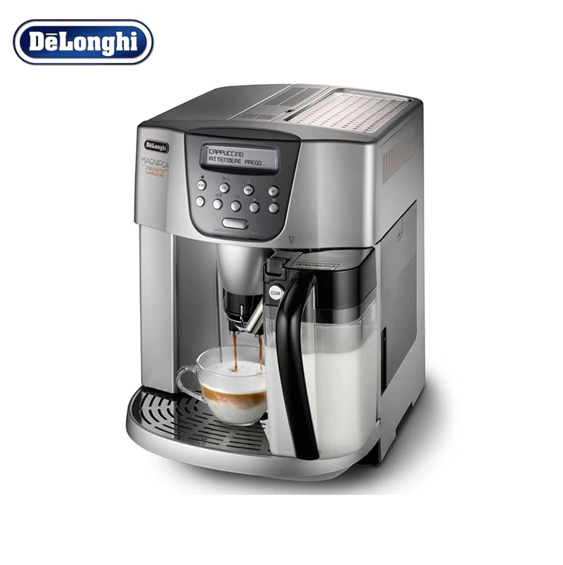 лучшая цена DeLonghi  ESAM 4500 coffee machine cHousehold appliances for kitchen automatic coffee maker grain  Capuchinator