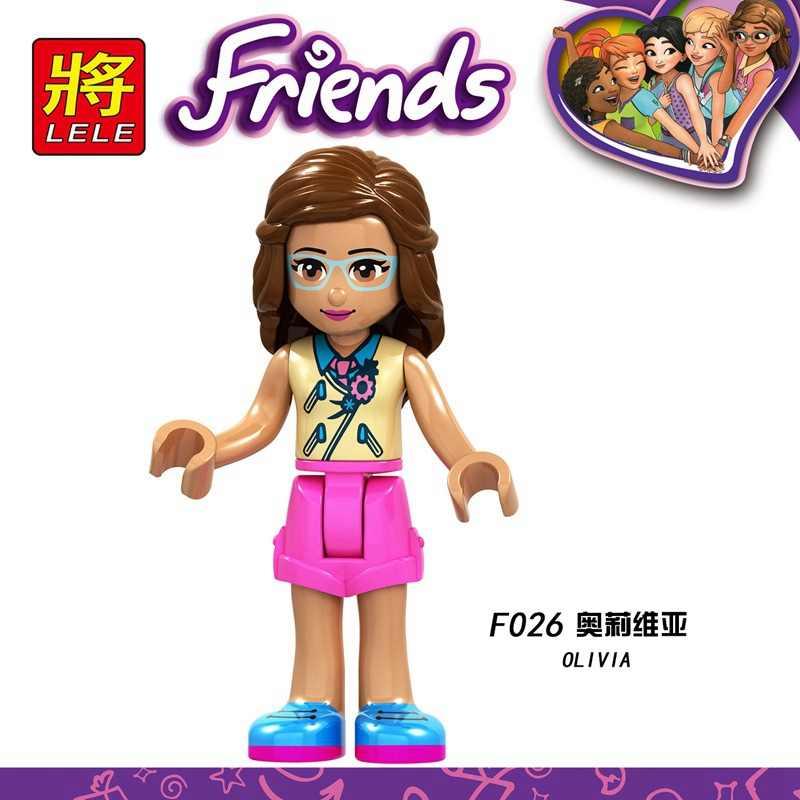 Legoing Teman Angka Andrea Gadis Putri Olivia Kate Emma Blok Dancet Set Mia Gadis Martina Mainan Stephanie Teman Legoing