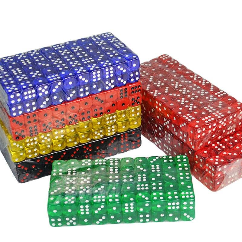 Conjunto de dados poliédricos digital de casinho, 16mm, jogo de tabuleiro de seis lados, jogo de tabuleiro para d & d rpg e jogos jogo de festa jóias 10 peças