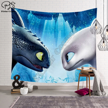 How to Train Your Dragon Blanket Tapestry 3D Printed Tapestrying Rectangular Home Decor Wall Hanging wall hanging bruce lee kung fu dragon tapestry