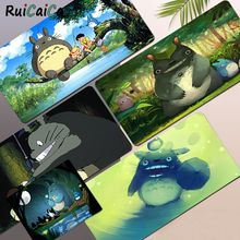 Mouse-Mat Keyboard-Pad Pad-Size Totoro Simple-Design Rubber Game Edge-Locking Durable