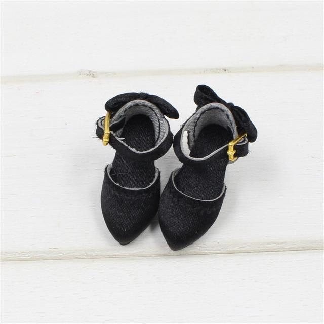 Neo Blythe Doll Black Shoes 1
