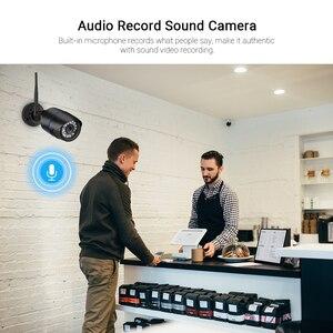 Image 4 - Hamrolte caméra de surveillance Bullet extérieure IP Wifi 5MP, étanche, sans fil, avec enregistrement Audio IE, navigateur internet Xmeye Cloud RTSP iCSee