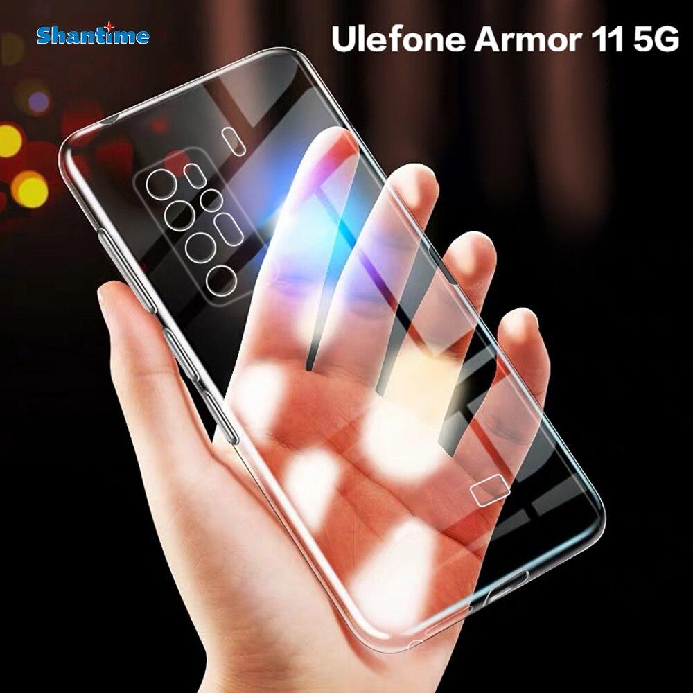 Для Ulefone Armor 11 5G чехол Ультратонкий Прозрачный мягкий чехол из ТПУ чехол для Ulefone Armor 11 Couqe Funda