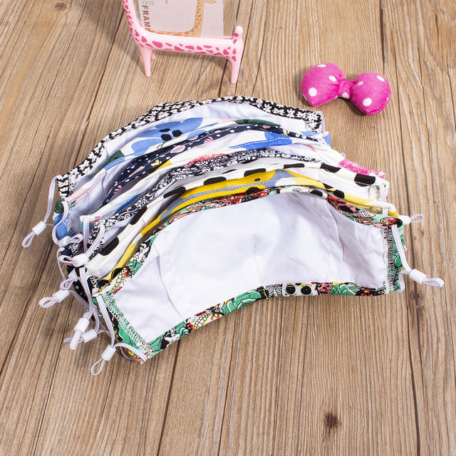 5-Layer Windproof Proof Flu Mouth Mask for Anti Dust Cotton Face Masks Breathable Washable Bacteria 1