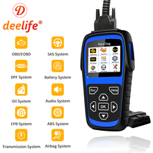 Deelife Full System Diagnostic Scanner Tool ( for BMW / MINI ) OBD2 Airbag ABS SRS Code Reader DPF SAS BMS EPB Oil Service Reset