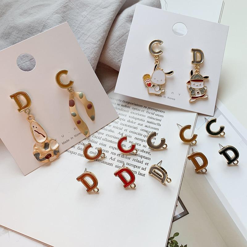 5X Yellow Enamel Lively Bee Charms w// Crystal Fit Bracelet Jewelry Craft DIY
