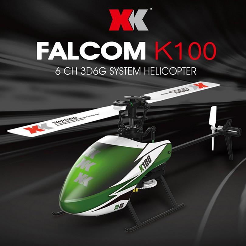 Weili XK K100 Six-way Joint Stand-up Non-Aileron Airplane Brushless Remote Control Helicopter Profession Airplane Model Toy