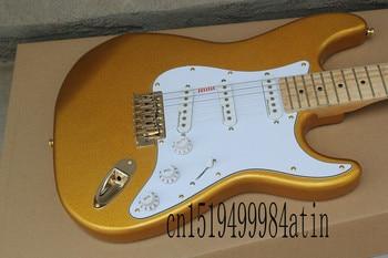 Nowa fabryka gitara najwyższej jakości niestandardowe ciało złoty sprzęt ciała gitara elektryczna Custom shop @ 22