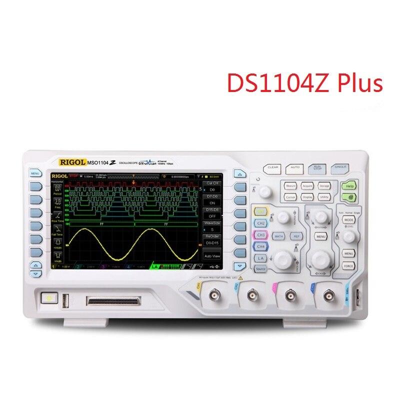 Oscilloscope numérique RIGOL DS1104Z Plus 100 MHz 1GSa/s avec bande passante numérique 4 CH et 16 CH 25 MHz