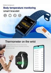 Image 5 - P29 Smart Uhr Männer Körper Temperatur Messung Herz Rate Fitness Tracker Smart Uhr Frauen GTS Smartwatch für Xiaomi
