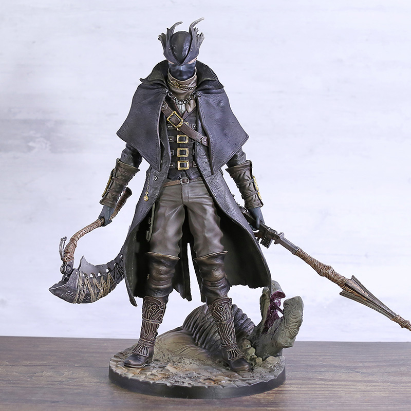 Bloodborne The Old Hunters 1/6 Scale PVC Statue Figure Collectible Model Toy Brinquedos Brinquedos
