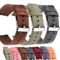 Watch Strap 22mm 20mm Nylon Watch Strap 22mm Quick Release For Samsung Galaxy Gear S3 S2 Watchband 18mm 20mm For Amazfit Bip