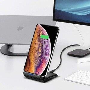 Image 3 - 15W Chargeur Rapide Sans Fil Qi Pour Samsung S10 9 plus Note10 iPhone Xr 11 Pro Max 8Plus HUAWEI P30 Pro Xiaomi Mi9 Station De Recharge