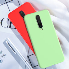 Voor Red Mi K30 5G Case Silicone Soft Cover Voor Xiao Mi Mi 9T A2 A3 Lite 8 9 Se Note 10 CC9 Rode Mi Note 8 7 K20 Pro 7A 8A Case(China)