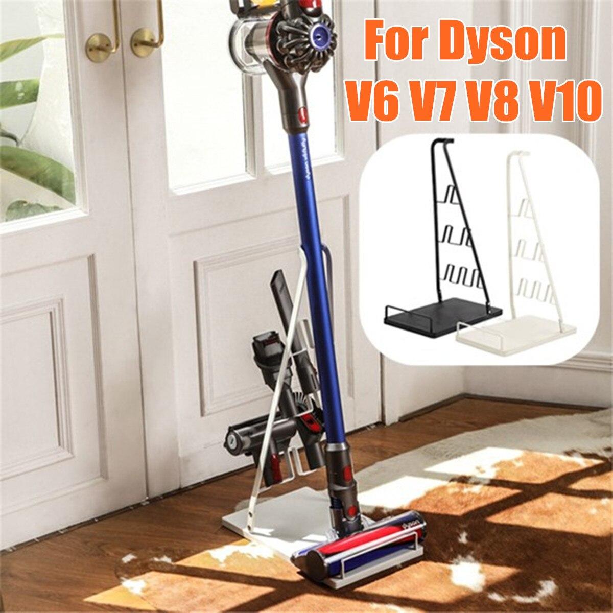 Support d'aspirateur de stockage en métal support de Station d'accueil outils support de sol pour aspirateur sans fil Dyson V6 V7 V8 V10