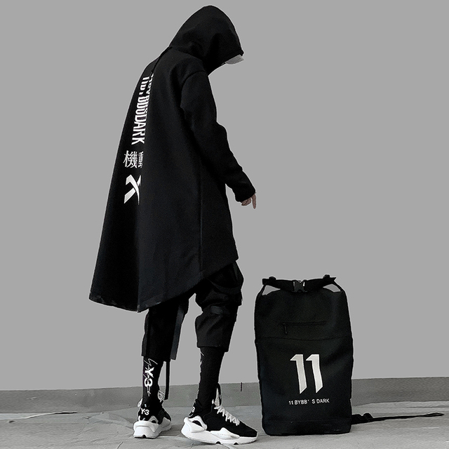 Japanese High End Cloak Hoodie 4