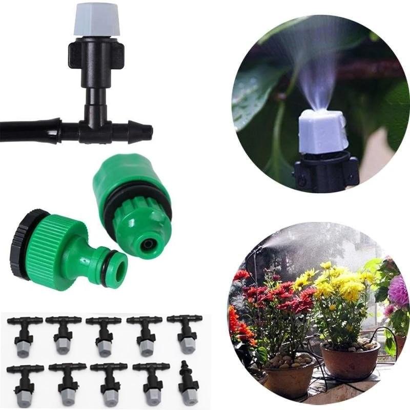 20 X Water Misting Atomizing Spray Sprinkler Nozzle Irrigation For Garden Plant