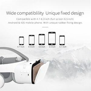 Image 2 - Nouveau VR 3D lunettes réalité virtuelle Mini casque en carton Z6 pliable lunettes casques BOBO VR lunettes