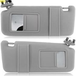 OE-visera de repuesto para parabrisas de coche Toyota Camry 2007-2011, gris, gris, Izquierdo, pasajero, derecho, luz de tocador, 2009