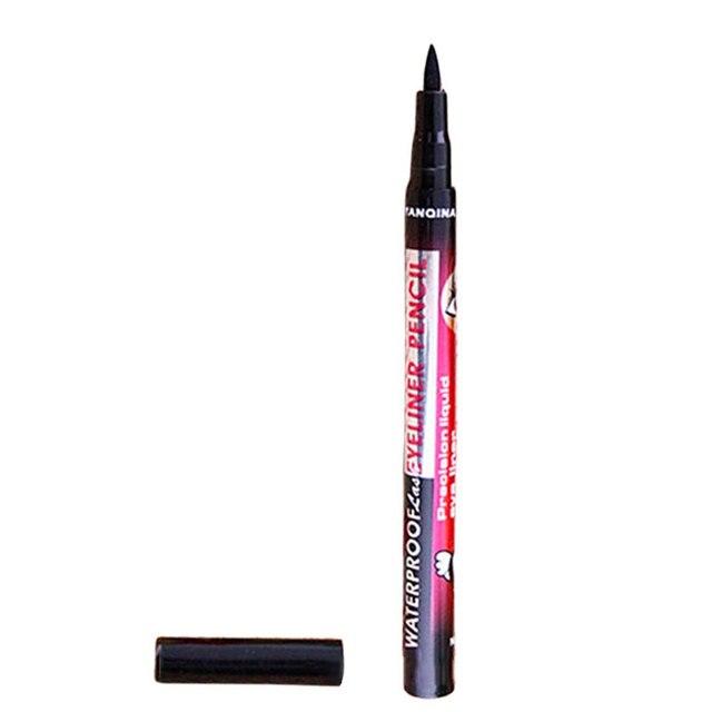 Hot Sale YANQINA Ultimate Black Liquid Eyeliner Long-lasting Waterproof Eye Liner Pencil Pen Nice Makeup Cosmetic Tools 2