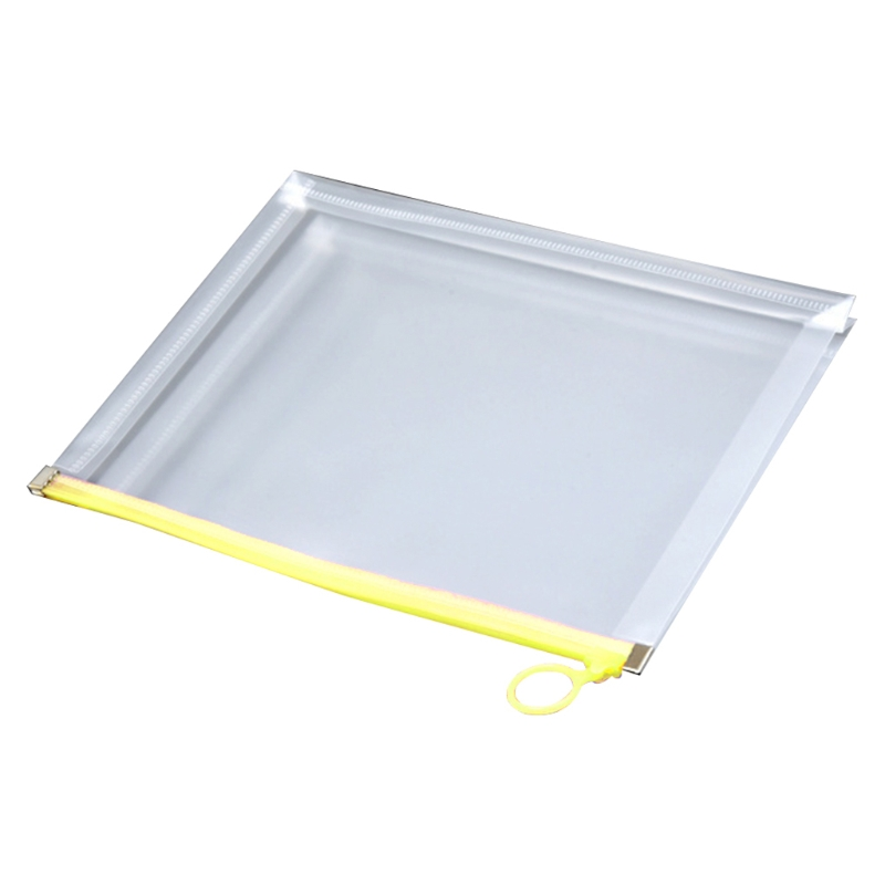 Multifunctional Transparent A4 A5 File Folder Document Bag Organizer Waterproof