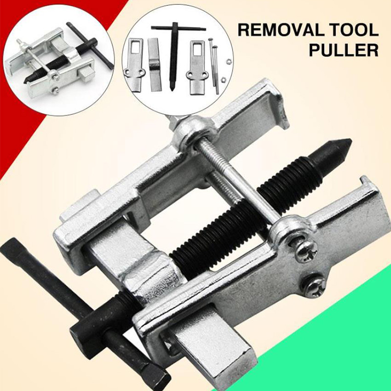 Two-jaw Spiral Puller Multifunctional Mechanical Bearing Remover Hand Tool Kit
