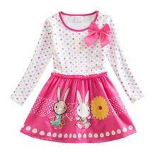Jumping meters/осенне весенние платья для маленьких девочек