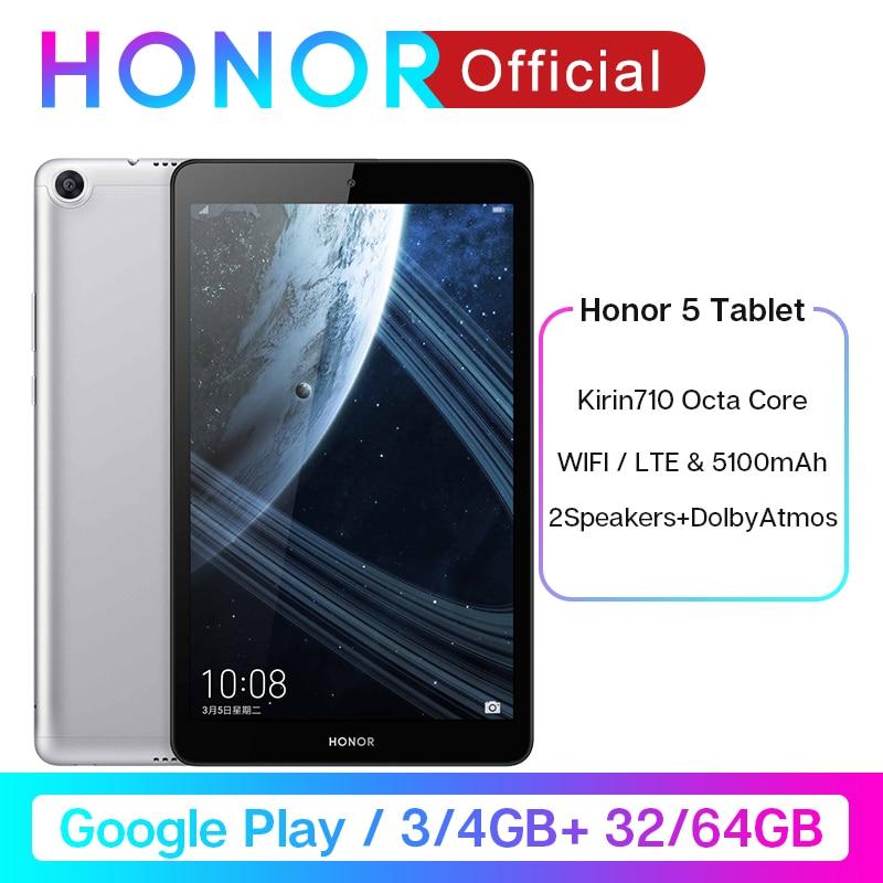 "Google Play Huawei Honor Pad 5 8""32GB/64GB Tablet Android 9 5100mAh Battery Kirin 710 Octa Core1200x1920 FHD IPS OTG Kids Tablet|Tablets| |  - title="