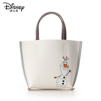 Disney Frozen Olaf Luxury Women Shoulder Bag Handbag Messenger Lady Shopping Leather Ladies Clutch girl