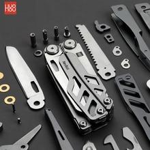 Xiaomi huohou multi función cuchillo plegable abrebotellas destornillador alicates Acero inoxidable ejército cuchillos caza Camping al aire libre