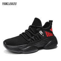 YHKLERZU Sport Running Shoes Men Shoes New Air Mesh Sneakers Man Trainers Zapatos De Hombre